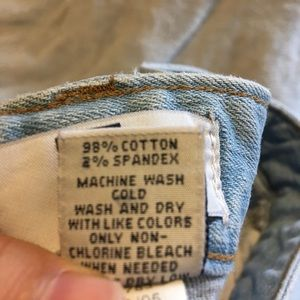 GAP Skirts - GAP Raw Edge Plus Size Lightwash Denim Skirt